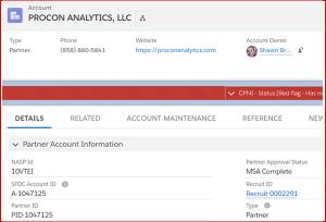 Verizon PRM System - Procon Analytics