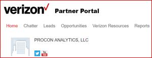 Procon Analytics Partner Program with Verizon